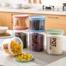 lmetjma rice bean sealed storage jars coffee tea sugar storage