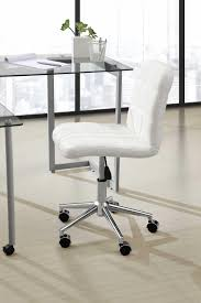 Desk Chair White by Keep And Cleaning Nice White Leather Desk Chair U2014 All Home Ideas