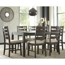 bold design 7 piece round dining room set inspiring