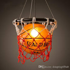 Sports Ceiling Light American Retro Creative Personality Restaurant Bar Table Stores