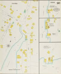 University Of Maine Map Eastport And Lubec 1903