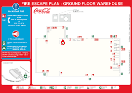 fire extinguisher symbol on floor plan commercial property office evacuation plans