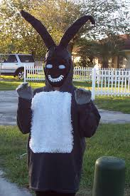 halloween costumes for bunny rabbits easy u0026 cheap donnie darko diy frank the bunny rabbit costume and