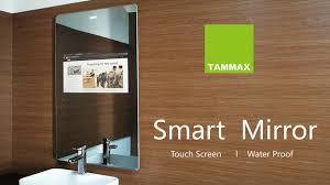 tammax smart mirror with tv u0026 touchscreen display