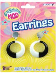 1960 s earrings 60s fancy dress earrings ebay