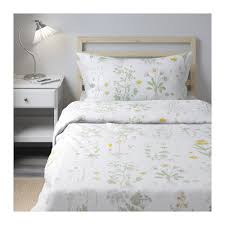 Yellow Patterned Duvet Cover Strandkrypa Duvet Twins And Quilt Cover