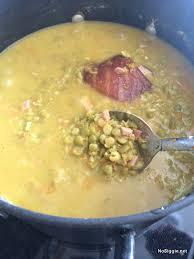 Comfort Food Soup Recipes Classic Split Pea Soup Recipe