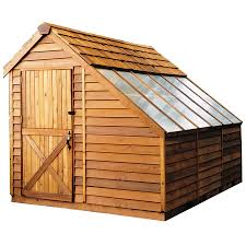 Lowes Outdoor Sheds by Shop Cedarshed Common 8 Ft X 8 Ft Interior Dimensions 7 33 Ft