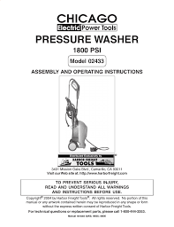 harbor freight tools 2433 user manual 24 pages