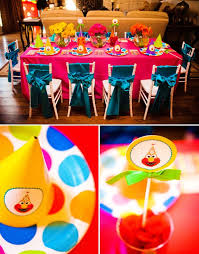 elmo birthday party elmo party table setup elmo themed birthday party for