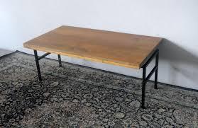 reclaimed wood coffee table metal legs bed u0026 shower sleek