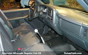 2002 Chevy Silverado Interior Pickuptruck Com Chevrolet Silverado Regular Cab Ss