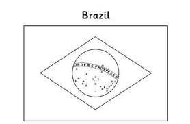 flag coloring pages brazil flags coloring pages of