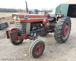 1975 massey ferguson 175 tractor item db0585 sold april