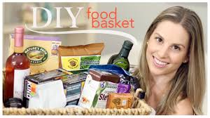 Gift Baskets Food Diy Food Basket Birthday Gift Youtube