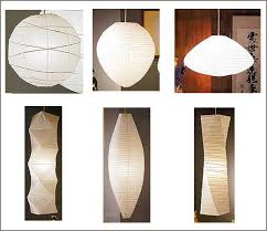 paper lantern light fixture modernist noguchi esque paper shade lights cheap improvised life
