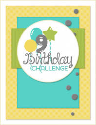 te 9th birthday sketch challenge taylored expressions blog