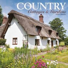 English Country Cottages Country Cottages And Gardens Calendar 2018 Calendar Club Uk