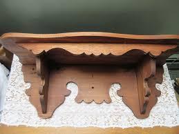 antique oak clock shelf oak shelf from inspiredbynanny on ruby lane