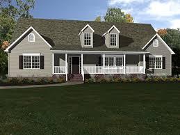 custom built house plans bungalow house plans modular home floor farmhouse with