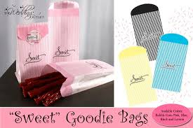 friday favor of the day sweet goodie bags