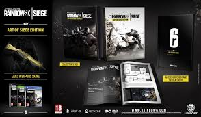Buy Rainbow Six Siege Gold Tom Clancy S Rainbow Six Siege Release Date Collector S