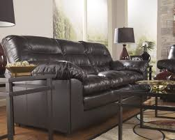 Leather Sofa Fabric Cushions by Brown Leather Sofa With Fabric Cushions Radiovannes Com