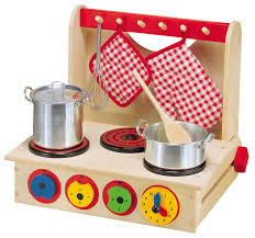 Toy Kitchen Set Wooden Amazon Com Alex Toys Wooden Cook Top Toys U0026 Games