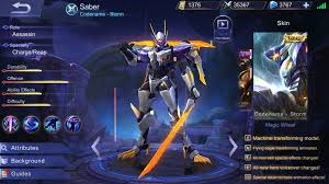 Mobile Legends Mobile Legends Saber Item Build And Skill Strategy Guide Fanaticbase