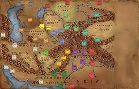Fantasy Map Fantasy Map New Cartography Art For A Fantasy Novel Series The
