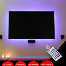 Remote Led Light Strips by Bason Usb Powered Rgb Led Tv Monitor Backlighting Led Mood Light