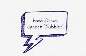 speech bubble hand drawn hand drawn speech bubbles u2014 medialoot
