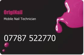 It Technician Business Card Originail Shellac Nails Newmarket Nail Technician In Newmarket