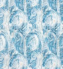 Blue Upholstery Fabric Upholstery Fabric Patterned Paisley Shading Blue Etro