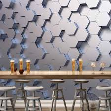 online buy wholesale geometric wallpaper modern from china geometric wallpaper murals photo wall paper sticker for living room tv background painting papel mural 3