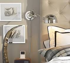 Sconce Lights For Bedroom Wall Sconces U0026 Wall Lamps Pottery Barn