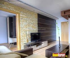 in livingroom lcd unit wall design in living room gharexpert