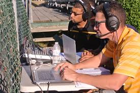 college broadcasters warm up at cape cod baseball league asu now