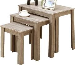 set of three end tables set of three coffee tables standard furniture 3 piece coffee table