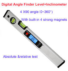 electronic finder digital protractor angle finder electronic level 360 degree