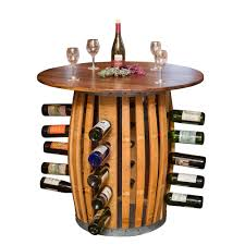 wine rack furniture bed bath and beyond stave and hoop table wine