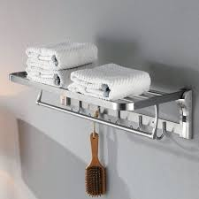 bathroom towel folding ideas 50cm 60cm stainless steel bath towel rack folding movable bath