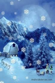 fgg christmas live wallpaper snow https