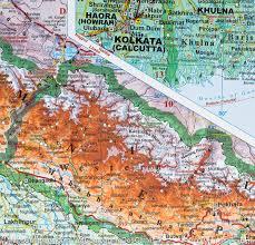 Geographical Map Of India by India Bhutan Bangladesh Nepal Maldives Sri Lanka