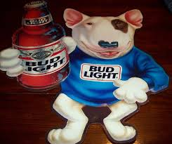 bud light tin signs vintage spuds mackenzie collectibles memorabilia