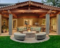 Pictures Of Backyard Fire Pits Backyard Fire Pit Houzz