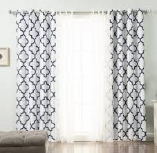 Black Out Curtain Panels Willa Arlo Interiors Brockton Damask Blackout Curtain Panels