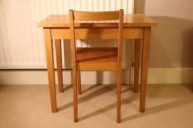 muji bureau muji ash desk table and chair two drawers muji hardwood desk