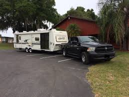 Ram Truck 3500 Towing Capacity - towing travel trailer at max weight capacity