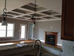 What Is A Coffered Ceiling by Coffered Ceiling Lights
